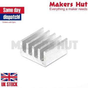 13x13x7mm Heatsink Heat Sink Self Adhesive 3M 8810 for A4988 or DRV8825