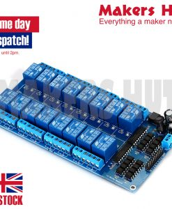 16 Channel Relay Board Module for Arduino Raspberry Pi ARM AVR DSP PIC