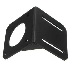 Mounting Bracket for Nema 17 Stepper Motor - Painted - Steel - CNC 3D Printer Nema17