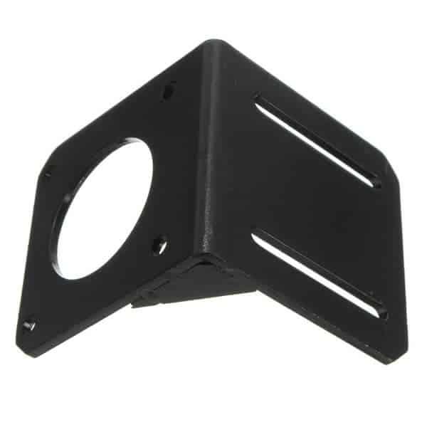 Mounting bracket for nema 23 nema23 stepper motor hobby for Nema 23 motor mount plate