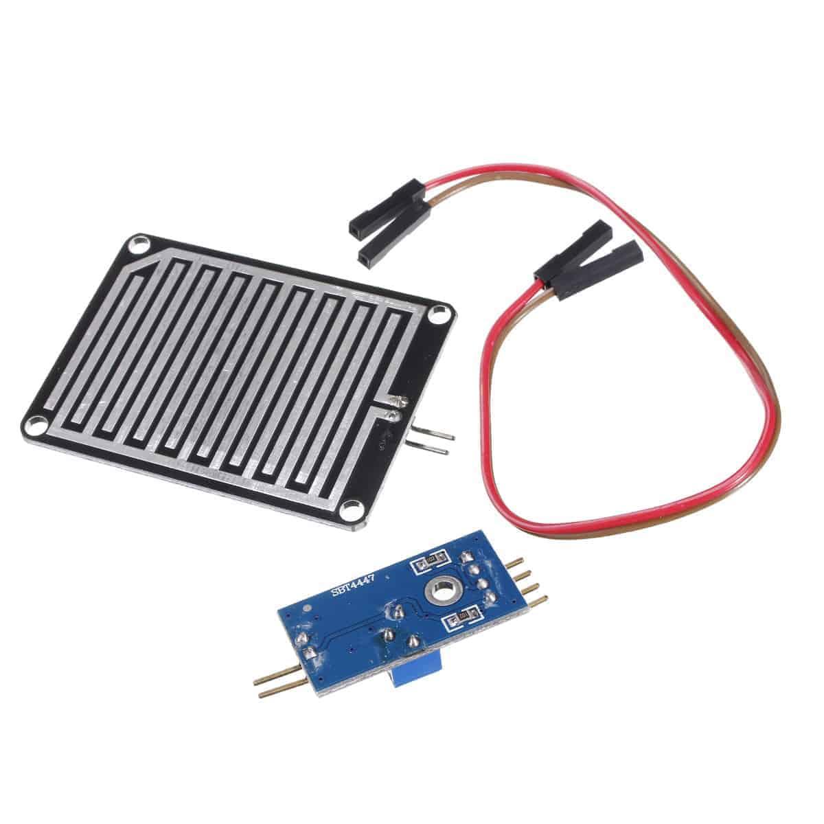 Raindrop Detection Sensor Module Humidity Rain Drop For Arduino PI #A32839