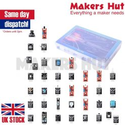 Ultimate 37 in 1 Sensor Modules Kit for Arduino MCU Education User