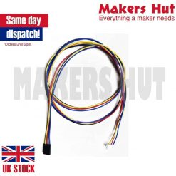 1 Meter Long Stepper Motor Cables with 4 Pin Dupont Connector - 3D Printer