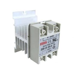 Aluminum Heat Sink For Solid State Relay SSR25 SSR Cooling
