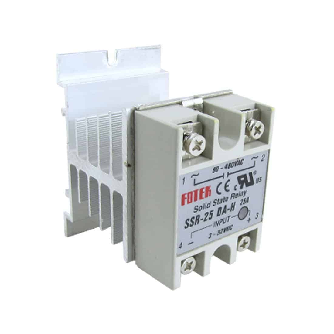 Heat Sink Ssr New Schneider Electric Zelior Solidstate Relays Images