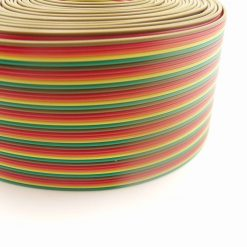 1 Metre 26AWG 40P Five Colour Flat Ribbon Cable - Automation PI Arduino 40 Way