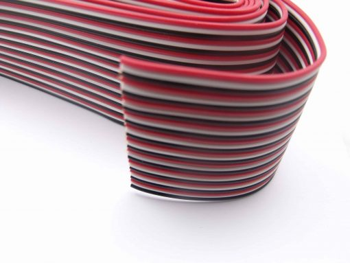 1 Metre 26AWG 30P Three Colours Flat Ribbon Cable - PI Arduino Good Ductility