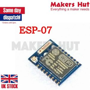 ESP8266 ESP-07 WIFI Transceiver Wireless Module with onboard antenna ARDUINO IDE