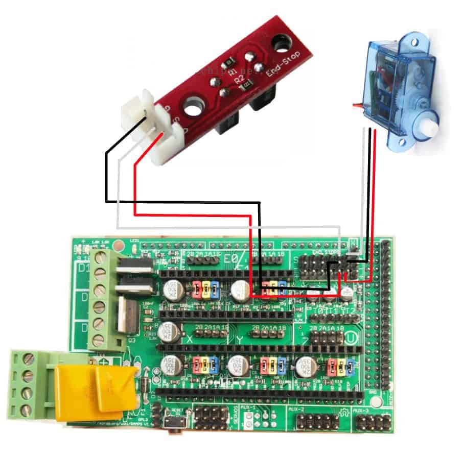 Ramps 1 4 Optical Endstop Wiring Solutions 3d Printer Photoelectric Stop Limit Switch Buy Min Max 20endstops Is Triggered But Don T Switches