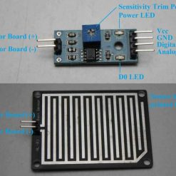 Raindrop Detection Sensor Module Humidity Rain Drop For Arduino PI