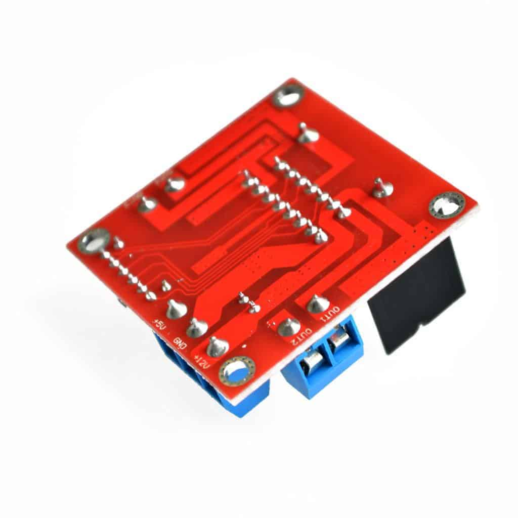 Dual H Bridge L298N DC Stepper Motor Driver Controller Board