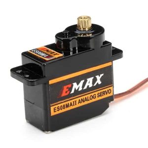 MAX ES08MA II 12g Mini Metal Gear Analog Servo for RC Model - Upgrade for SG90