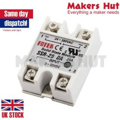 SSR25DA DC-AC Solid State Relay for Heated Bed Heater
