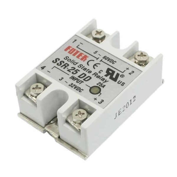 SSR25DD DC-DC Solid State Relay for Heated Bed Heater