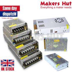 DC 5V 12V 24V Universal Regulated Switching Power Supply LED 3D Printer CCTV