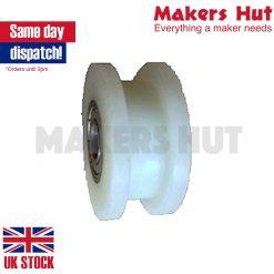 Idler Pulley Wheel for 9mm Belt – 3D Printer – CNC – Milling