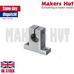 SK8 Linear Rail Shaft Support 8mm – CNC – 3D Printer Milling – RepRap – SK 8