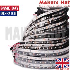 WS2811 5050 RGB Full color Addressable Strip- 30 – 48 – 60 LED/M – IP30 IP67 12V