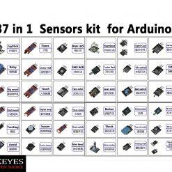 Ultimate 37 in 1 Sensor Modules Kit for Arduino MCU Education User