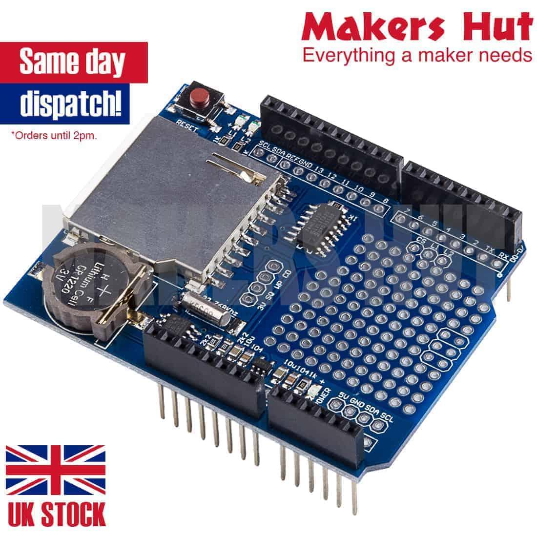 Recorder Data Logger Module Shield XD-204 for Arduino UNO SD