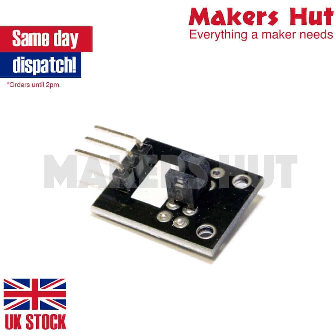 Light Blocking Sensor Opto Interrupter Module Keyes Ky 010 Arduino Photo
