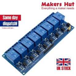8 Channel Relay Board Module for Arduino Raspberry Pi ARM AVR DSP PIC