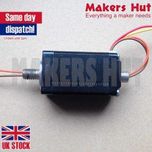 Nema11 Hollow Shaft Stepper Motor 0.67A 80mNm Nema 11