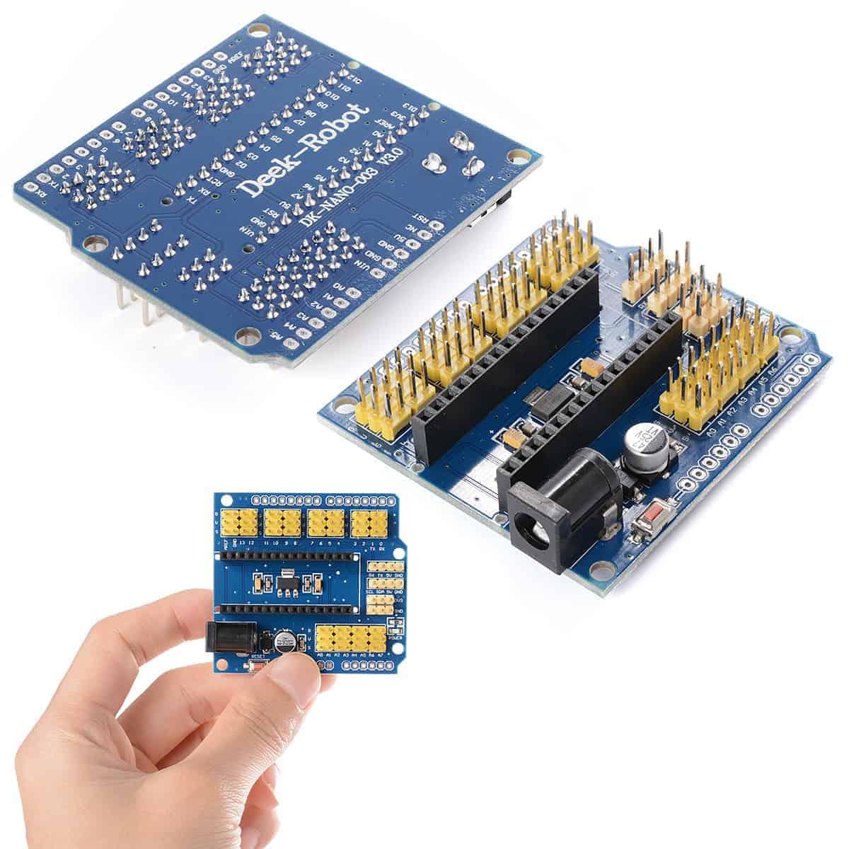 Prototype Shield I/O Expansion Module Extension Board For Arduino Nano 3