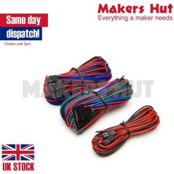14 Piece Cable set for wiring RAMPS 1.4 to Endstops Thermistors Motors - RepRap 3D