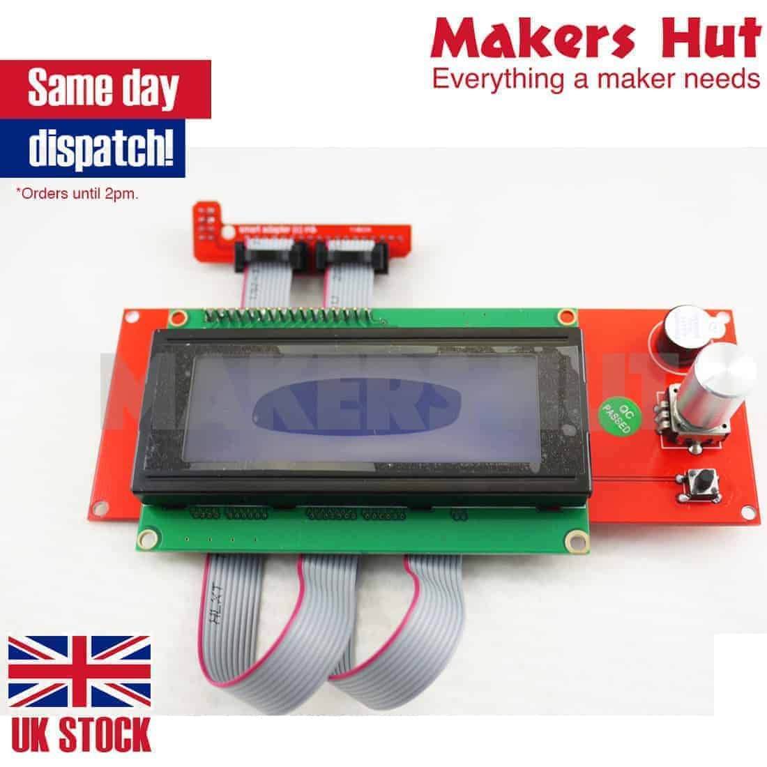 2004 Lcd Controller With Sd Card Slot For Ramps 14 Reprap 3d Diy Printer Connections Of 1 4 Display