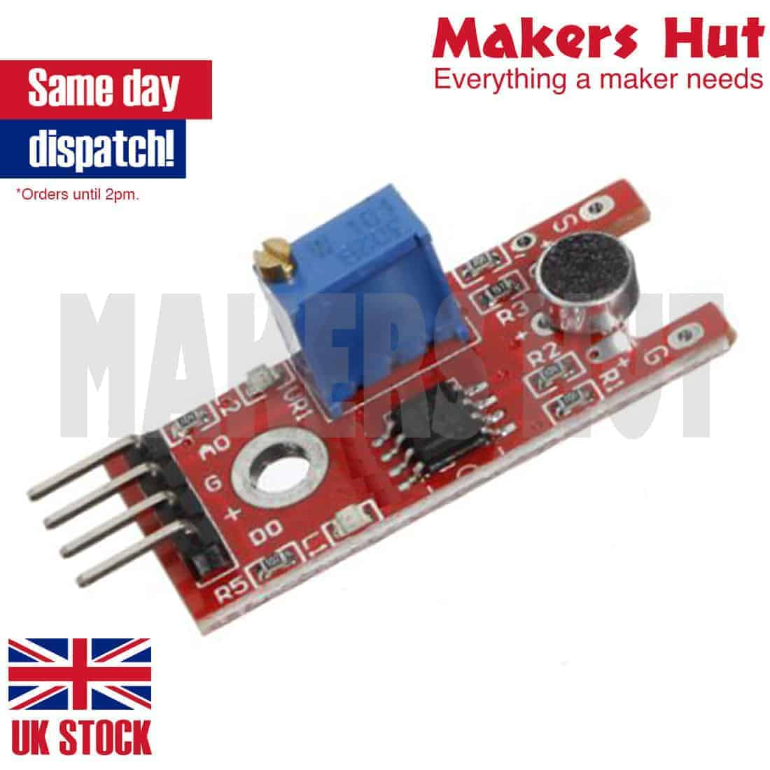 Microphone Voice Sound Sensor Module For Arduino AVR PIC KY