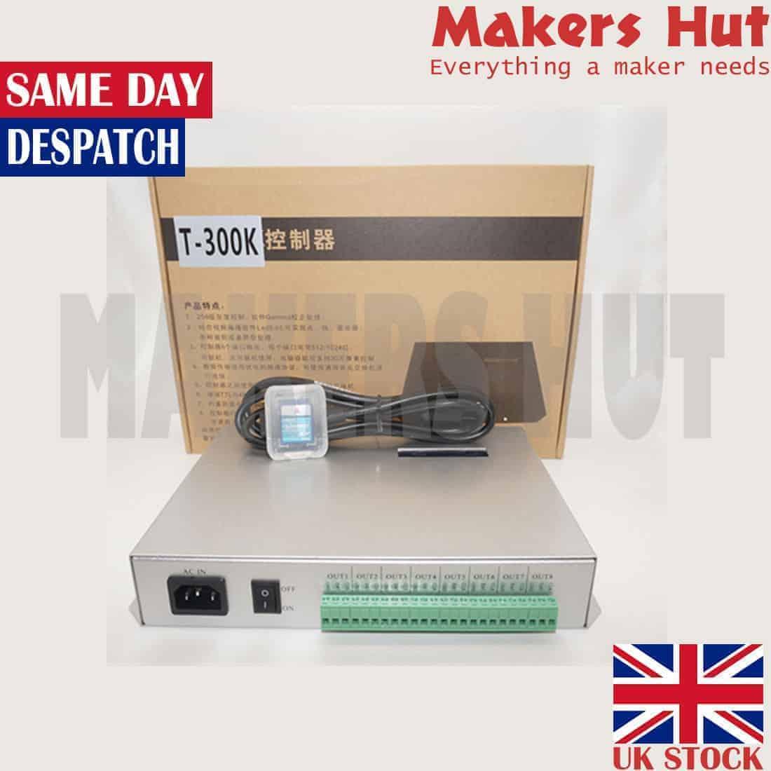 457c0fc8040 T-300K Controller SD Card Online VIA PC RGB Full Color LED 8 Ports 8192  Pixels