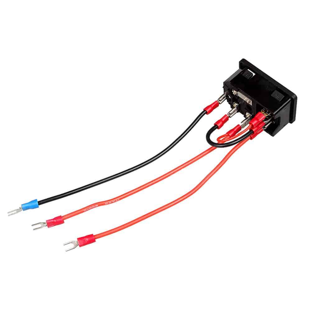 Power Switch Socket Module 220v 110v 15a With Fuse 3d