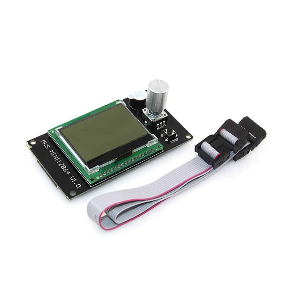 MKS MINI12864LCD Controller Marlin SD Card Side Screen Display - 3D Printer