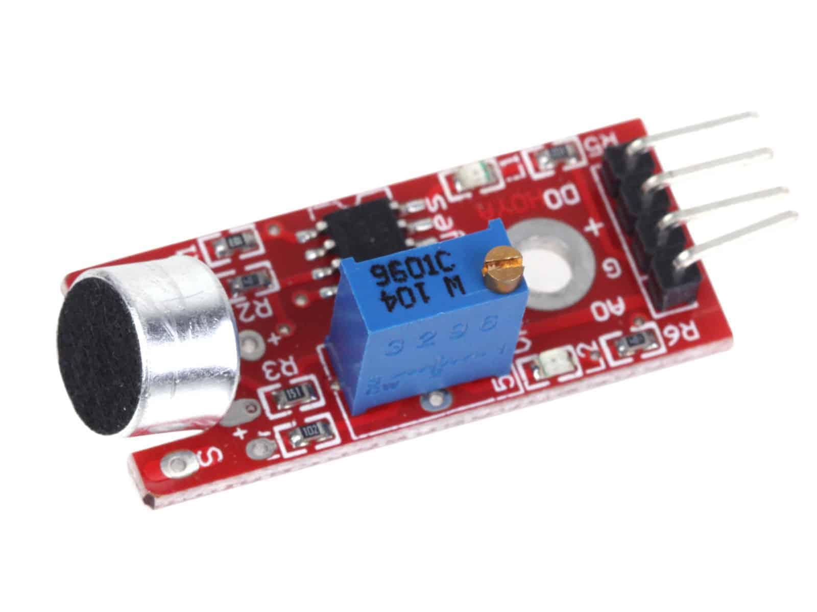 High Sensitivity Microphone Sensor Sound Detection For Arduino Module KY-037