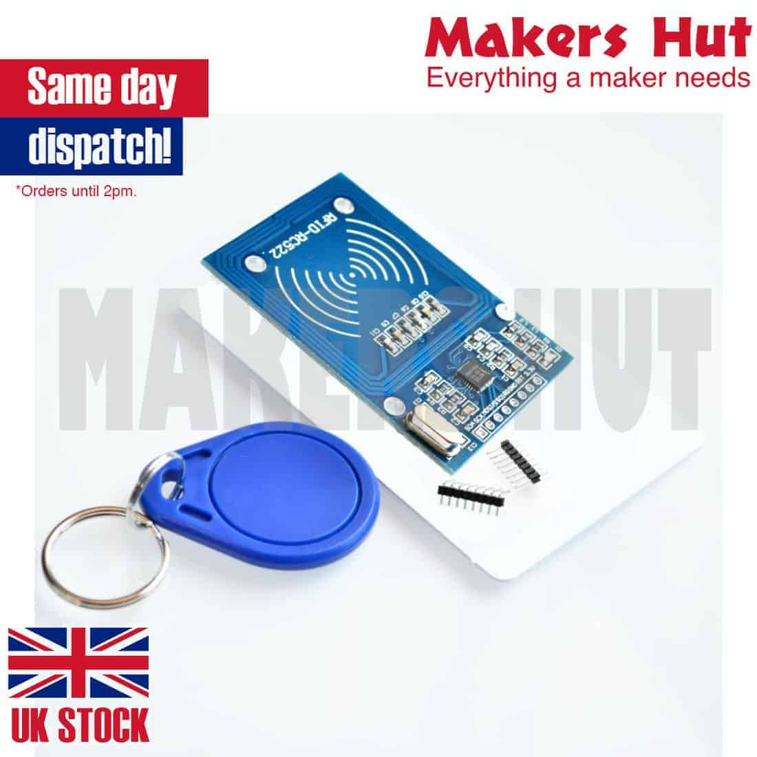 RFID module RC522 Kits S50 13 56 Mhz 6cm With Tags SPI Write & Read for  arduino