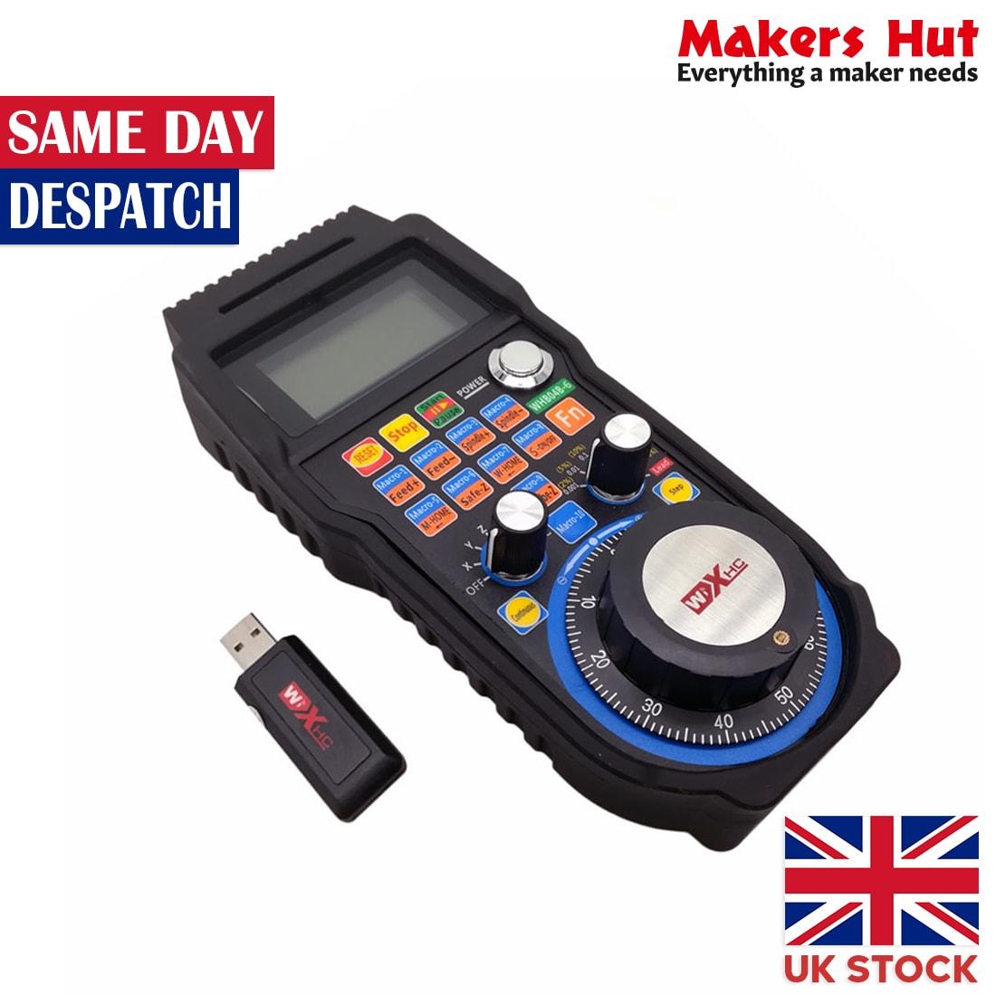 MACH3 4 Axis Wireless Electronic Handwheel Manual Controller MPG USB Handle
