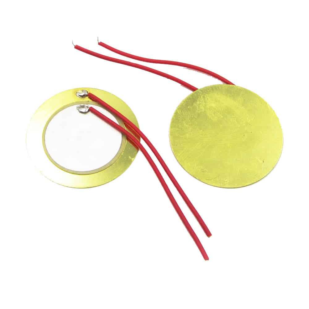 10x piezo elements sounder sensor trigger drum disc 12 20 27mm makers hut. Black Bedroom Furniture Sets. Home Design Ideas