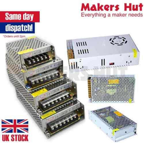 DC 3 3V 5V 9V 12V 18V 24V 36V 48V Universal Regulated Switching Power  Supply LED PSU