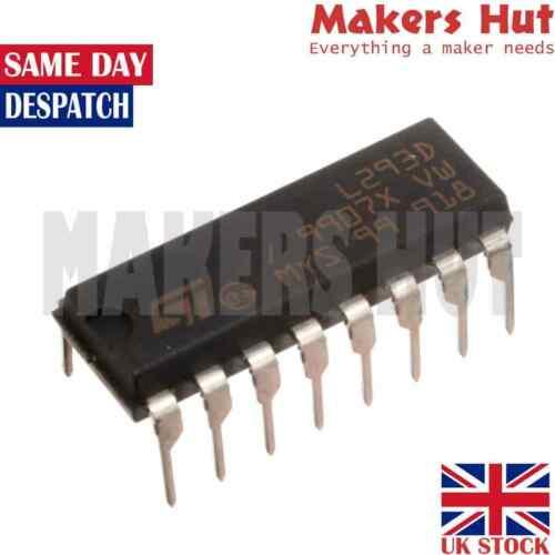 L293D Motor Driver IC L293 DIP/SOP Push-Pull Four-Channel Stepper Chip