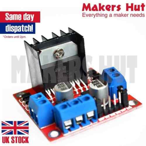 dual h bridge l298n dc stepper motor driver controller board – arduino