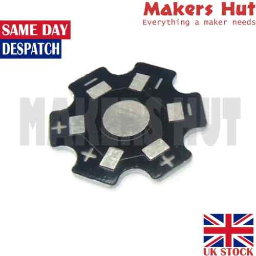 20mm Star High Power 1W / 3W LED Beads Heat Sink Aluminum Base Plate DIY