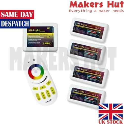2 4G WiFi RF Touch Remote Wireless Smart Phone MiLight RGB Led Controller  Dimmer